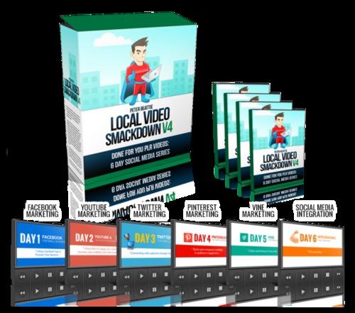 Product picture LocalVideoSmackdownV4 Elite Promo Pack.rar/w  Full PLR